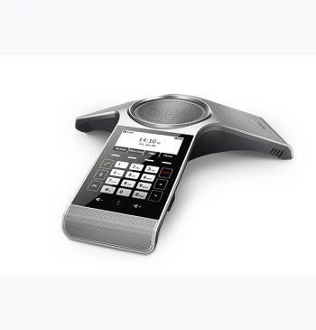 Audioconferência para reuniões de pequeno a médio porte