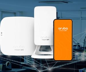 Access Point é com a Aruba e WDC Networks!